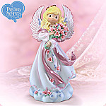 Collectible Precious Moments Blessings Of Hope Breast Cancer Charity Figurine