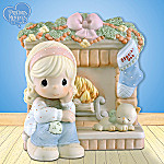 Precious Moments Thoughts Of You Are So Hearth Warming Christmas Figurine