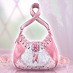 Hope Collectible Breast Cancer Charity Sculptural Purse Figurine