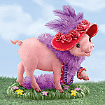 Oh Sow Sassy Collectible Pig Figurine
