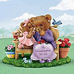 My Granddaughter, My Joy Collectible Teddy Bear Figurine Gift For Granddaughters