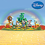Disney Mickey And Friends: Mickey's Magical Times In Oz Figurine And Display Set