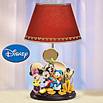 Collectible Disney Mickey's Magic Of Friendship Table Lamp