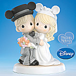 Precious Moments Mickey Mouse Magically Ever After Wedding Figurine