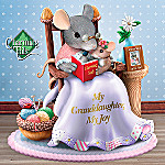 Charming Tails My Granddaughter, My Joy Collectible Mouse Figurine