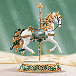 May The Road Rise Up To Meet You Irish Carousel Horse Figurine