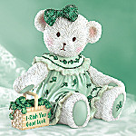 Good Luck Irish Teddy Bear Collectible Figurine: I-Rish You Good Luck