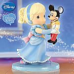 Precious Moments Disney Mickey Mouse Figurine: Dance Until Your Dreams Come True