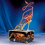 Miniature Collectible Red Dragon Shoe Figurine: Power