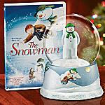 Raymond Briggs' The Snowman Musical Snowglobe and DVD Gift Set