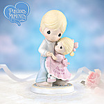 Precious Moments Daddy's Little Girl Father And Daughter Figurine: Sentimental Gift