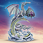On Winds Of Dreams Mystical Dragon Figurine: Glows In The Dark