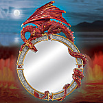 Reflections Of The Dragon's Realm Wall Mirror