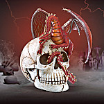 Mortal Doom Collectible Dragon And Skull Of A Fallen Knight Figurine