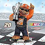 One Smokin' Champion Tony Stewart NASCAR Good Ole Bears Figurine