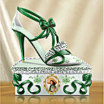Southern Belle Style Collectible Gone With The Wind Shoe Figurine