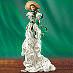 Gone With The Wind Scarlett O'Hara Collectible Figurine: Flower Of The South
