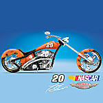 Smoke & Mirrors Tony Stewart NASCAR Motorcycle Figurine