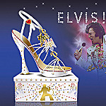 Elvis Presley 30th Anniversary Collectible Shoe Figurine: All American Style