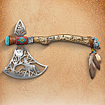 Spirit Guides Native American Style Tomahawk Replica