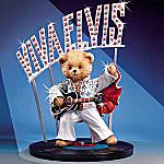 Viva Elvis Teddy Bear Figurine
