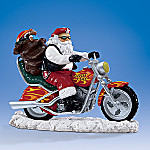 Santa Claus Is Cruisin' To Town Figurine
