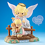 Precious Moments Angels Watching Over Us Figurine