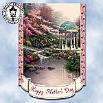 Thomas Kinkade Happy Mother's Day Decorative Flag
