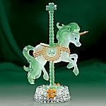 Shamrocks And Sunshine Irish Unicorn Figurine