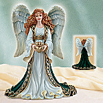May Love And Friendship Reign Irish Angel Figurine