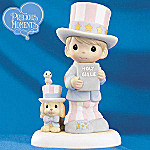 Precious Moments God Bless America Figurine