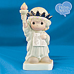 Precious Moments America, You're Beautiful Figurine