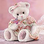Promise Bear Hope Breast Cancer Charity Bear Figurine