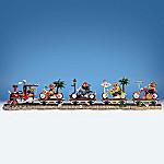 Faithful Fuzzies(TM) Rally On The Rails Train Figurine
