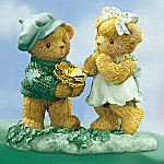 Cherished Teddies Our Love Is More Than Luck Figurine