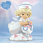 Precious Moments(R) Sending Love From Above Collectible Nurse Figurine