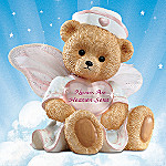 Nurses Are Heaven Sent Angel Teddy Bear Figurine