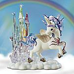 Castles In The Sky Unicorn Figurine