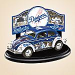 Los Angeles Dodgers Major League Baseball VW Beetle Diecast Car