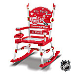 Detroit Red Wings(R) Hockey Rocking Chair