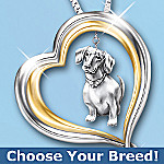 Loyal Companion Dog Lover Necklace Jewelry Gift Idea