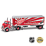 1:25 NHL Detroit Red Wings(R) Super Semi Diecast Car