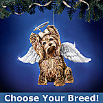Precious Paws Dog Angel Christmas Tree Ornament Collection: Unique Dog Lover Gift