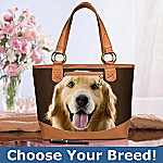 Faithful Friend Dog-Themed Tote Bag: Unique Dog Lover Gift