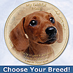 My Faithful Friend Dog Lover Collector Plate: Unique Gift For Dog Lover
