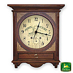 John Deere Wooden Wall Clock