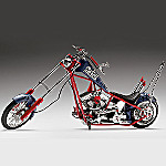 1:10 Scale New England Patriots Collectible Diecast Chopper
