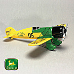 Collectible John Deere Diecast Airplane Replica