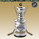 2007 Anaheim Ducks Stanley Cup Trophy Replica: Collectible Hockey Christmas Ornament