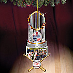 2007 World Series Champions Boston Red Sox Collectible Trophy Ornament